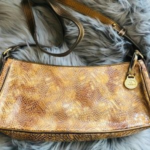 Authentic Vintage Brahmin small leather handbag